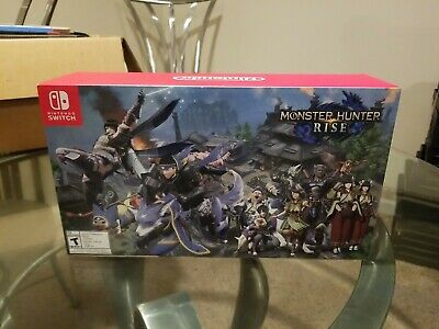 $ CDN503.54 • Buy Nintendo Switch Special Limited Edition Monster Hunter Rise Edition Console