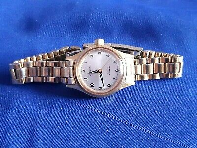 £9.99 • Buy Vintage Citizen 17 Jewels Parawater Gold Plated Ladies Watch With Original Strap