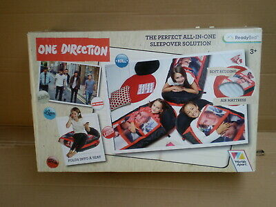 £31.99 • Buy One Direction Ready Bed All In One Travel Sleepover Solution Pump 170cm Mattress