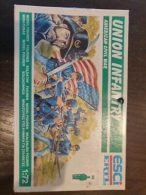£3.60 • Buy ESCI 1/72 Scale American Civil War Union Infantry BOXED SEALED