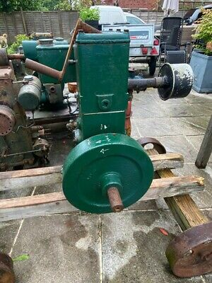 £99 • Buy Lister D Engine With Wheeled Trolley, In Need Of Renovation, Fabulous Project