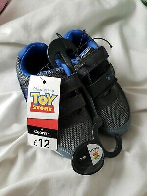 £9.99 • Buy DISNEY TOY STORY Buzz To The Rescue! Boys TRAINERS  Size 8 EUR 26 New With Tags