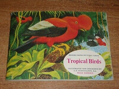 £0.80 • Buy Brooke Bond Tea Cards Album, Tropical Birds Complete With Cards And Insert