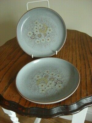 £12.50 • Buy 2 X DENBY REFLECTIONS6.75   TEA/SIDE PLATES ,mint Condition