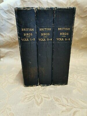 £186 • Buy 3 Antique Books British Birds With Their Nests And Eggs, By A. G. Butler - 1895