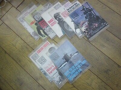 £10 • Buy History Of The Second World War Magazines 80 Issues Almost New Condition