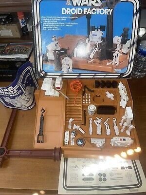 $ CDN302.12 • Buy Vintage Star Wars Kenner 1978 SW Droid Factory 100% Complete With Box