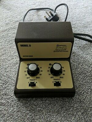 £19.99 • Buy Gaugemaster Model D Twin Track Controller. Model Railway. Good Tested Condition