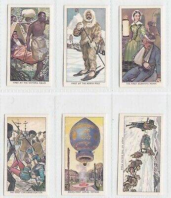 £1.50 • Buy Kellogg Ltd. - Famous Firsts - Full Set - Very Good Condition Cards