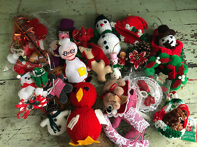 $ CDN22.57 • Buy LOT OF VINTAGE Christmas And Holiday Ornament NEW LOT #154
