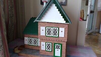 £38 • Buy Small Wooden Dolls House