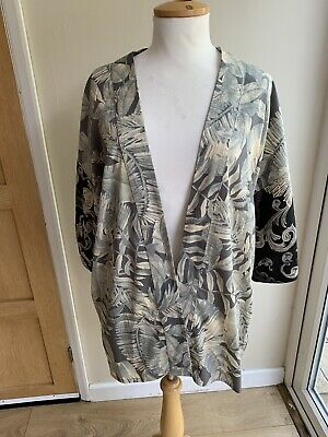 AU8.78 • Buy Stunning Kimono Cover Up Size L 16/18/20 New
