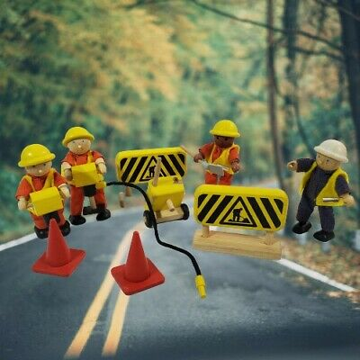 £28.32 • Buy Pintoy Construction Worker Road Crew Set    RARE Toy