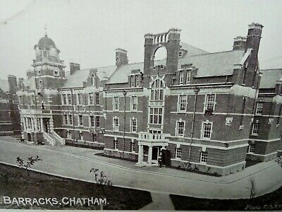 £1.99 • Buy Edwardian Photograph Postcard R.N. Barracks Chatham Posted From Barracks In 1905
