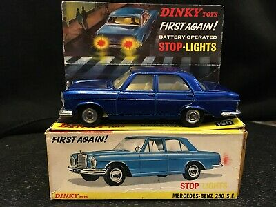 £43 • Buy  Dinky Toys * No 160 * Mercedes Benz 250 Se * In Its Original Box 1967