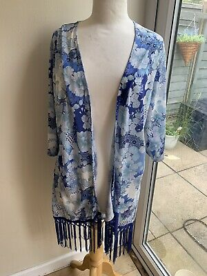AU8.41 • Buy Stunning Cover Up Kimono Size L Dorothy Perkins New!!!