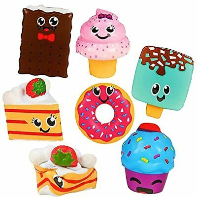 AU38.34 • Buy 6 Desert Squishy Toys For Kids - Squishies Jumbo Pack Scented Slow Rising