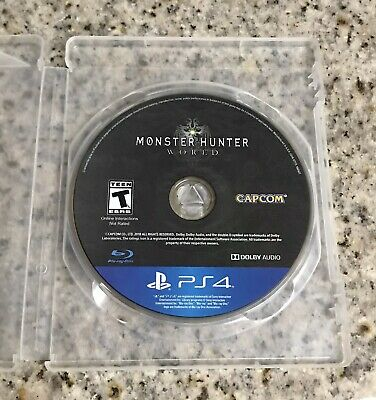 AU16.29 • Buy Monster Hunter: World (PlayStation 4, 2018) PS4 Disc Only Role Playing Game
