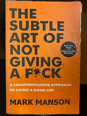 AU9.50 • Buy The Subtle Art Of Not Giving A Fck Counterintuitive Approach To Living Good Life