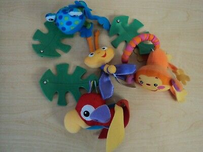£20.13 • Buy Fisher Price Rainforest Peek-A-Boo Musical Crib Mobile Replacement Plush Toys