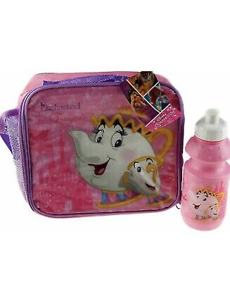 £3 • Buy Mrs Potts Disney Beauty And The Beast 2 Piece  School Lunch Bag And Flask