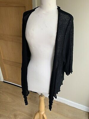 £6.50 • Buy Stunning Evans Waterfall Shrug, Cover Up, Cardigan Size 30/32 New!!!