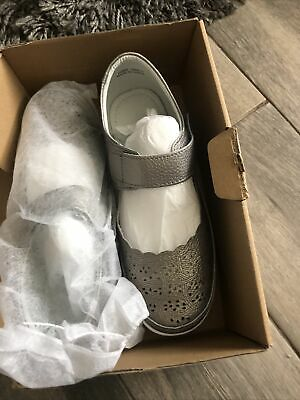 £15 • Buy Pewter Shoes Size 6 Eeeee Lovely Colour Light Weight Casual Or Smart JD WILLIAMS