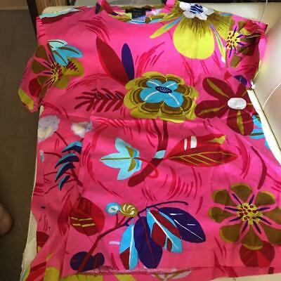 AU280.41 • Buy Vintage Gucci Tropical Floral Print T-Shirt Cotton Tops Pink Size S Tom Ford