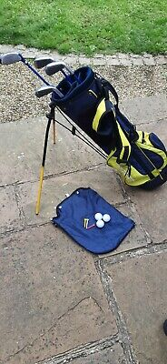 AU30.20 • Buy Left Handed Prosimmon Junior Golf Clubs With Bag Age 9-12