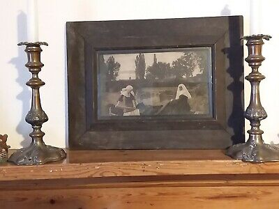 £13 • Buy  Vintage Picture In Frame - VALE OF REST - UNTOUCHED - GOTHIC - 17 X 11