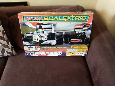 £11.50 • Buy Micro Scalextric Jenson Button V Lewis Hamilton Fully Working.