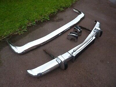 £500 • Buy ROVER P5 / P5B Front And Rear Bumpers With Overriders.  Good Condition. One Pair