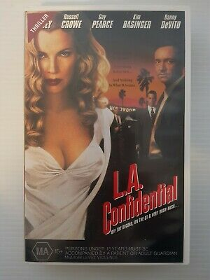 AU17.50 • Buy L.a Confidential - Kevin Spacey, Russell Crowe -  Vhs Video