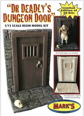"""£29.99 • Buy """"Dr.Deadly's Dungeon Door"""" (Aurora) Limited Edition 1/13 Scale Resin Model Kit."""