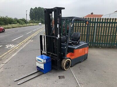 £4650 • Buy Toyota Electric Forklift 1.6 Ton / Conteiner Spec