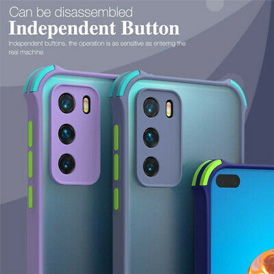 $ CDN4.61 • Buy For Samsung Galaxy S21 S20 Ultra S10 S9 S8 Plus Shockproof Matte Hard Cover Case