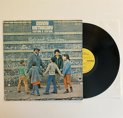 £61.95 • Buy Donny Hathaway - Everything Is Everything - 1970 US 1st Press Rare Funk (EX)