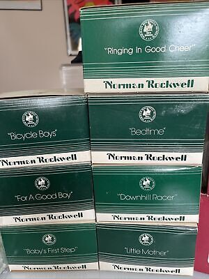 $ CDN94.60 • Buy Norman Rockwell Museum Collection Figurines 7 Mint & In Original Box