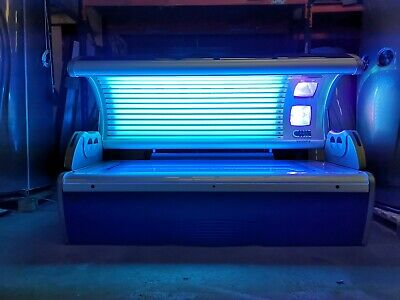 £1999 • Buy Hapro Lumina 3603: Commercial Lie Down Sunbed - New Tubes & Meter