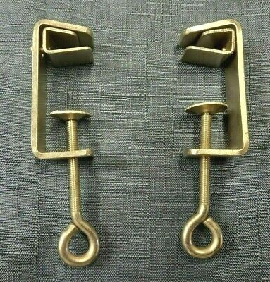 £13.99 • Buy Rare Vintage Victoria 4.5mm Knitting Machine Complete Table Clamps Set X 2