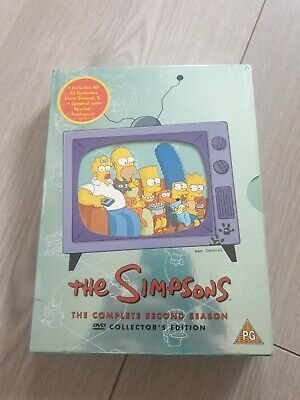 £0.99 • Buy The Simpsons - Series 2 - Complete (DVD, 2002, 4-Disc Set)