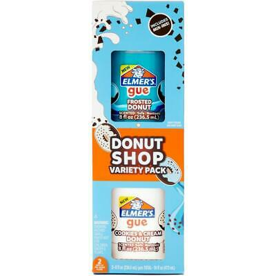 AU40.69 • Buy Elmer's Pre-made Slime  With Mix-ins 2 Pack - Doughnuts Shop Theme