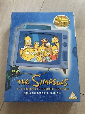 £0.99 • Buy The Simpsons - Series 4 - Complete (DVD, 2004, 4-Disc Set)