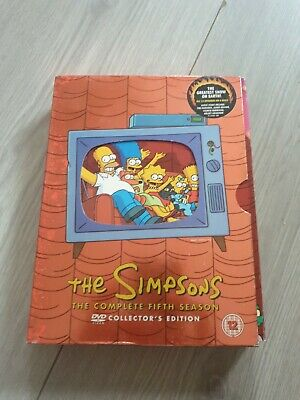£0.99 • Buy The Simpsons - Series 5 - Complete (DVD, 2005, 4-Disc Set)