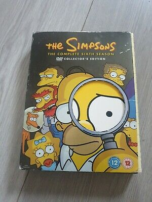 £0.99 • Buy The Simpsons - Series 6 - Complete (DVD, 2005, 4-Disc Set, Box Set)
