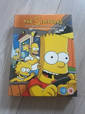 £1.04 • Buy The Simpsons - Series 10 - Complete (DVD, 2007, 4-Disc Set, Box Set)