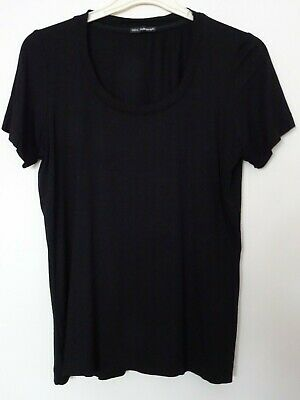 £4.99 • Buy Ladies Black Marks And Spencer Autograph Stretch Top Size 14