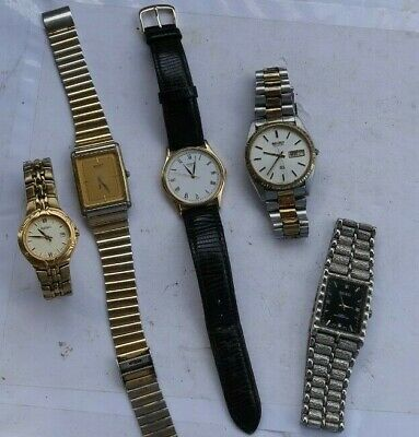 $ CDN3.73 • Buy LOT Vintage Watches Wristwatches ALL Seiko Men's Ladies Day Date SQ Deco LOOK NR