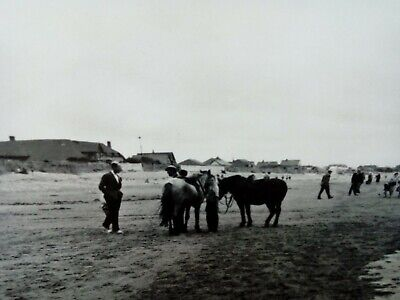 £1.99 • Buy King George V Real Photograph Postcard The Sands East Wittering With Pony Rides