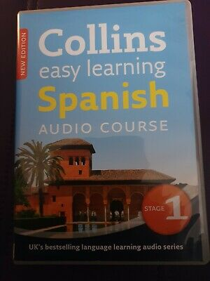 £8.99 • Buy Collins Easy Learning Spanish Audio Course  Stage 1 Language Educational